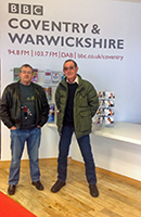 Men in Sheds interviewed at BBC Coventry & Warwickshire