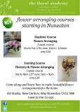 Flower Arranging Poster